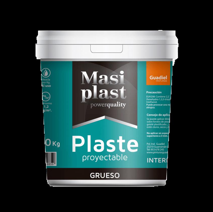 Masiplast proyecci n fino pinturas guadiel - Cemento decorativo para paredes ...